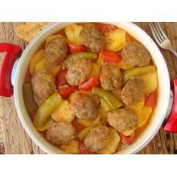 Patates Köfte + Pilav