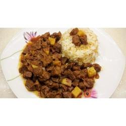 Tas Kebabı + Pilav